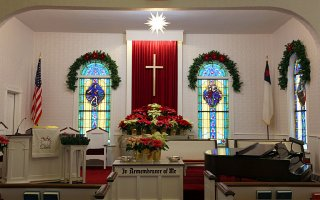 Ephraim Moravian Church - Christmas 2010