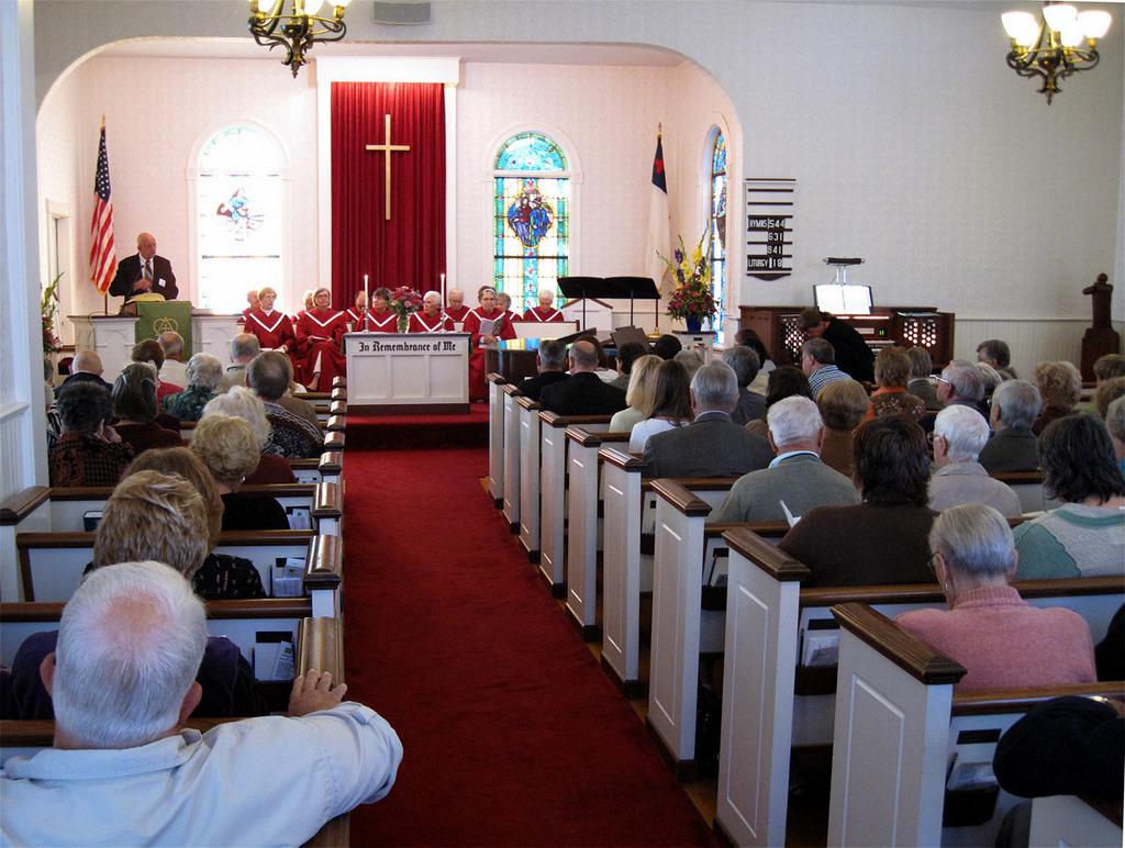 Ephraim Moravian Church - Sanctuary