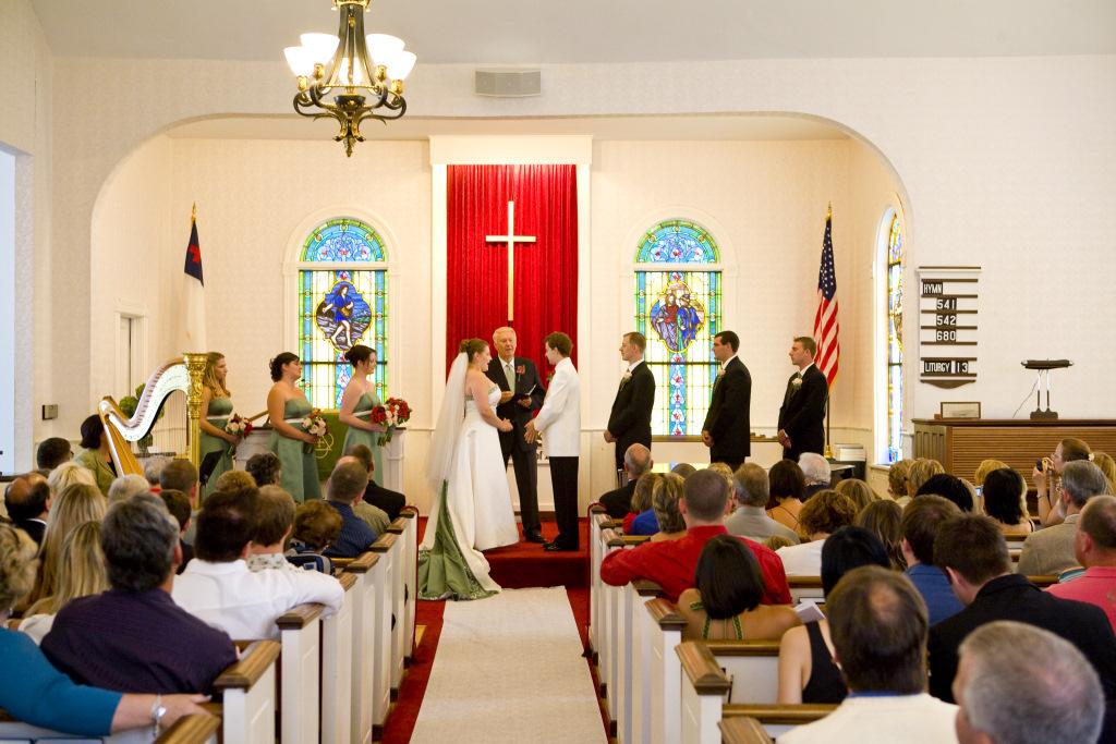 Ephraim Moravian Church - Wedding Sanctuary